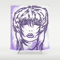 punk Shower Curtains featuring Punk by Jeanette Torello