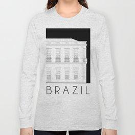 Brazil Facade Long Sleeve T-shirt