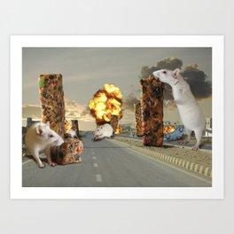 Infestation Art Print