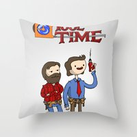 tool Throw Pillows featuring tool time. by dann matthews