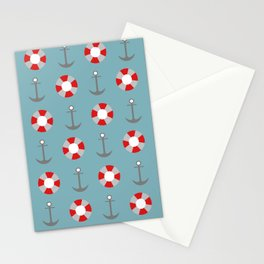 Sailing Pattern Stationery Cards