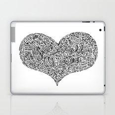 All I need - Lyrics doodle Laptop & iPad Skin