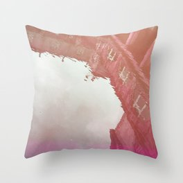 Curses: Pink Drink Throw Pillow