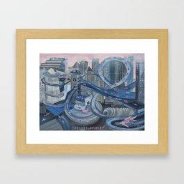 L.A. Freeway    Framed Art Print