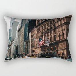 New York City Street Rectangular Pillow