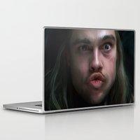 brad pitt Laptop & iPad Skins featuring Brad Pitt - 12 Monkeys - Monkey Wrench by Saint Genesis