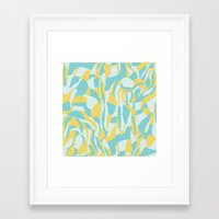 camo Framed Art Prints featuring Camo by Deborah Gruber