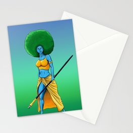 Art Is War (Her) Stationery Cards