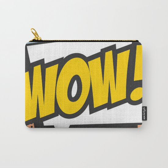 Wow (comic style) Carry-All Pouch