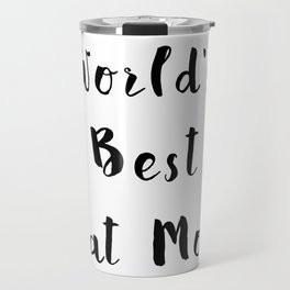 World's Best Cat Mom Travel Mug