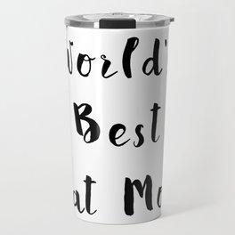 World's Best Cat Mom Travel Mug