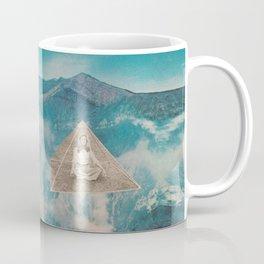 Flotar entre las nubes  Coffee Mug