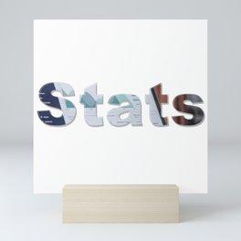 Stats Mini Art Print