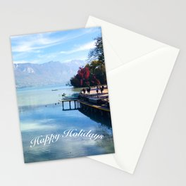 Lake Annecy Stationery Cards