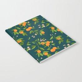 Citrus Tree - Navy Notebook