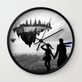 Sherlolly - Floating World Wall Clock
