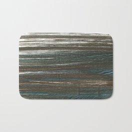 Olive lines Bath Mat