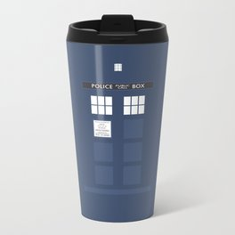 Tardis ( Doctor Who ) Metal Travel Mug