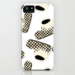 Baby love Moccasins Checks iPhone Case