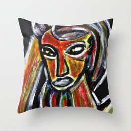 GRUDGE Throw Pillow