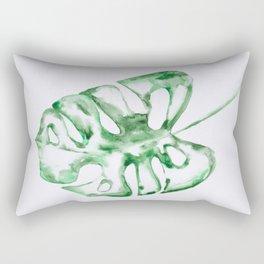 Monstera Leave Rectangular Pillow