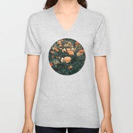 Forest of Roses Unisex V-Neck