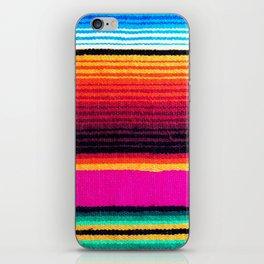 Magenta Sky Serape iPhone Skin