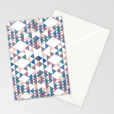 Tri-angles Stationery Cards