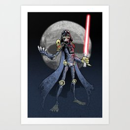 Judge Darth Art Print