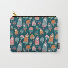 Pattern Project #49 / Mushroom Girls Carry-All Pouch