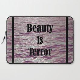 BEAUTY IS TERROR | THE SECRET HISTORY BY DONNA TARTT Laptop Sleeve