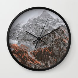a late autumn song Wall Clock