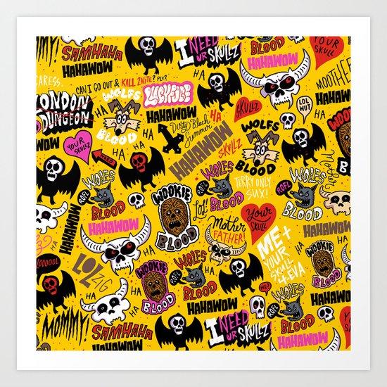 LOLzig Pattern Art Print