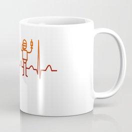 Anesthesiologist Heartbeat Coffee Mug