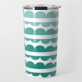 Mordidas Gradient Green Travel Mug