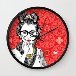 Thank you for smoking Wall Clock