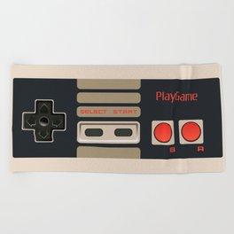 Retro Gamepad Beach Towel