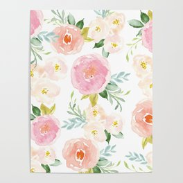 Floral 02 - Medium Flowers Poster