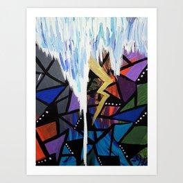Storm of Emotions Art Print