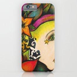Nicole (Flower) iPhone Case