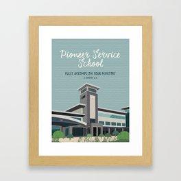Pioneer Service School (Warwick, Bethel) Framed Art Print