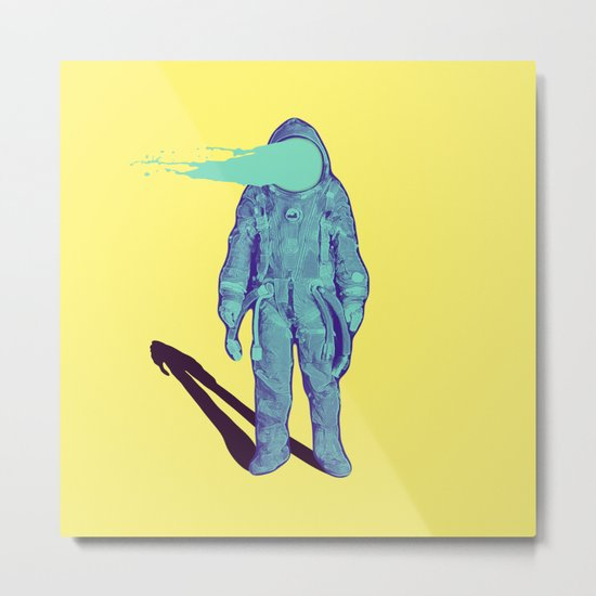 This is just a simple astronaut  Metal Print