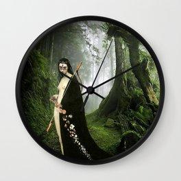 Diana - Mononoke Hime Wall Clock