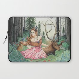 The Queen of the forest Laptop Sleeve