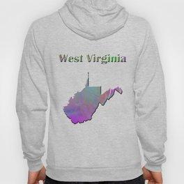 West Virginia Map Hoody