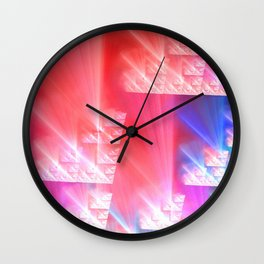 Light Leaks Wall Clock