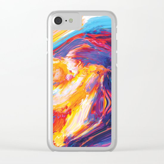 Nasim Clear iPhone Case