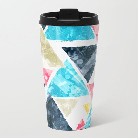 Triscape Metal Travel Mug