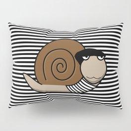 French Snail ~ Escargot Pillow Sham