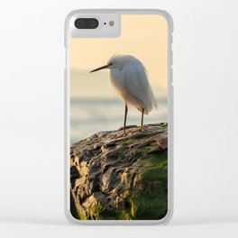 Young Egret Clear iPhone Case